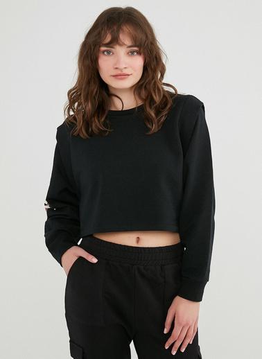 Penti Kadın Siyah Bu4U Cool  Sweatshirt PHTT7H8G21IY Siyah